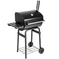 TecTake® BBQ Holzkohlegrill Barbecue Smoker mit Temperaturanzeige
