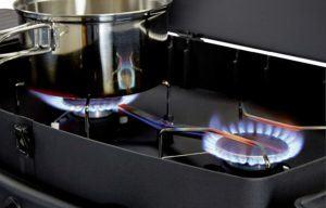 Nützliches Zubehör aus einem Tisch Gasgrill Test
