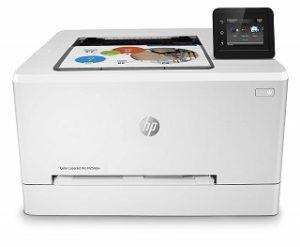 Der M254dw Laserdrucker von HP sieht sehr schön aus im Test