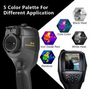Nach diesen Testkriterien werden Wärmebildkameras bei uns verglichen