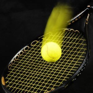 Die Bespannung des Schlägers im Tennisschläger Test und Vergleich