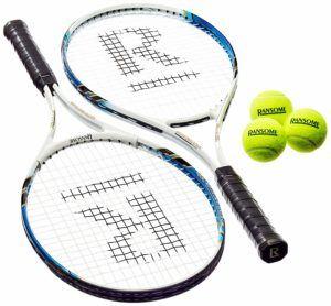 Eignungsprüfung in einem Tennisschläger Test und Vergleich