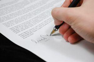 Vertrag Online Putzservice prüfen und unterschreiben