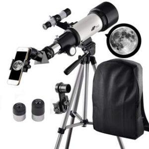 Welche Arten von Teleskop gibt es in einem Testvergleich?