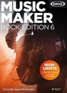 Folgende Eigenschaften sind in einem Magix Music Maker Test wichtig