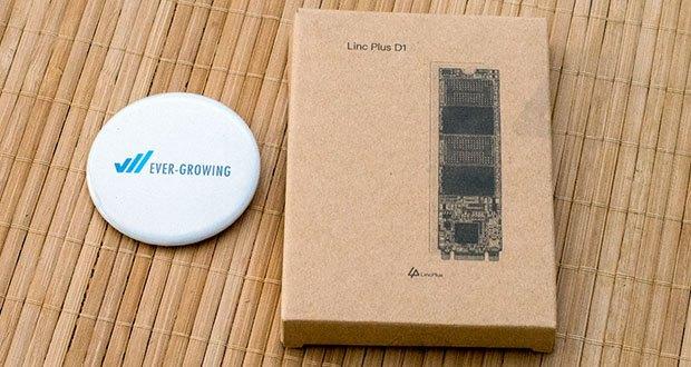 LincPlus SSD Festplatten für Laptops im Test - Schnittstelle: M.2 2280 SATA3 / Kapazität: 256 GB