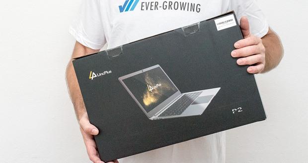 Der LincPlus P2 Laptop 14 Zoll basiert auf dem neuesten Intel Celeron N3350 Prozessor 2.4GHz