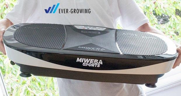 Miweba Sports Vibrationsplatte MV200 3D im Test – effiziente Technologie in seiner leichtesten Form!
