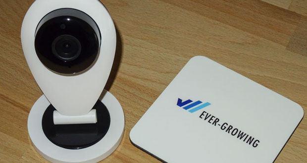 HiKam S6 Überwachungskamera im Test - Alexa kompatible