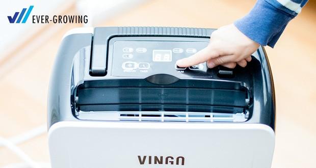 Vingo Luftentfeuchter von Hengda mit einer Entfeuchtungsleistung 12 L/Tag im Test
