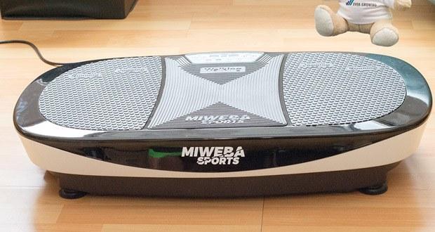 Mit der Miweba Sports Vibrationsplatte MV200 3D können Sie direkt durchstarten!