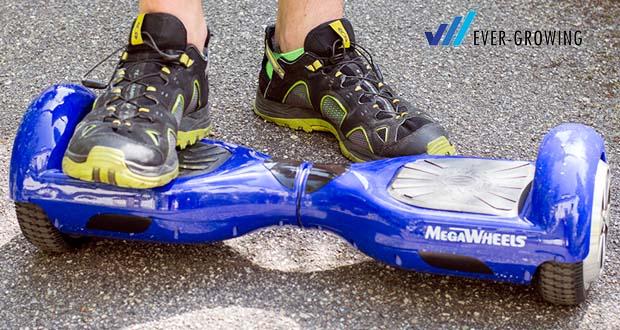"""MEGAWHEELS Hover Board 6.5"""" mit max. Belastung von 100 kg"""