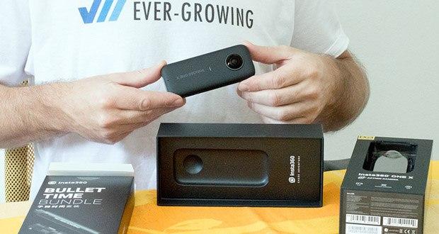 Insta360 360 Grad Action Kamera im Test - die neuen Aufnahmemodi 50 FPS (4K) und 100 FPS (3K) bieten sehr flüssige Aufnahmen