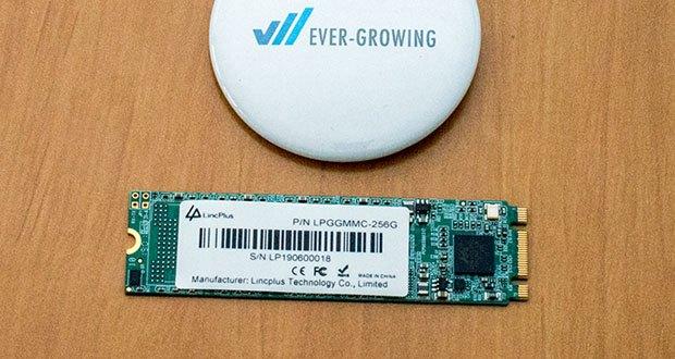 LincPlus 256GB M.2 2280 SATA SSD Festplatte ist eine bessere Lösung in einem Laptop oder Tablet