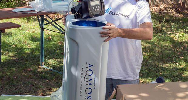 Der Wasserenthärter CM-60 von Aqmos im Test – ist effektiv, kompakt und besonders einfach zu handhaben
