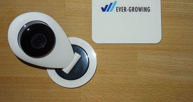S6 Überwachungskamera von HiKam im Test - Kostenlose Cloud-Speicherung in Deutschland
