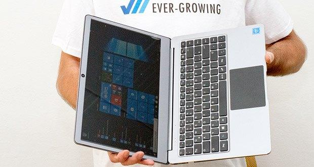 LincPlus P2 Laptop 14 Zoll im Test - Windows 10 und Microsoft Office-Testversion sind vorinstalliert