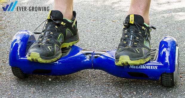 "MEGAWHEELS Hover Board 6.5"" - Maximales Klettern: 15 °"