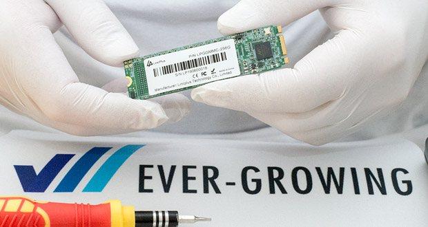 LincPlus SATA SSD Festplatten mit Micron 3D NAND technology für Laptops, Notebooks und Tablets