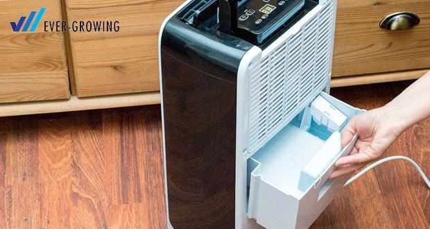 Vingo Luftentfeuchter von Hengda tit dem Wassertank Kapazität von 1.5 L