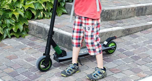 Electric Scooter-S1 von MEGAWHEELS - kostengünstiger, bequemer, umweltfreundlicher und umweltfreundlicher als jedes andere Auto, Lastwagen oder Gasfahrzeug
