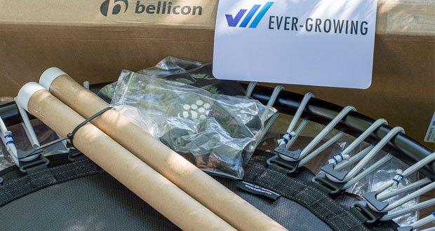 bellicon Classic Mini-Trampolin im Test - Matte schwarz-grau, bereits montiert, inkl. umfangreichem Einführungspaket