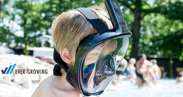 Tauchmaske von Hengda - Trockene Schnorchel-Technologie