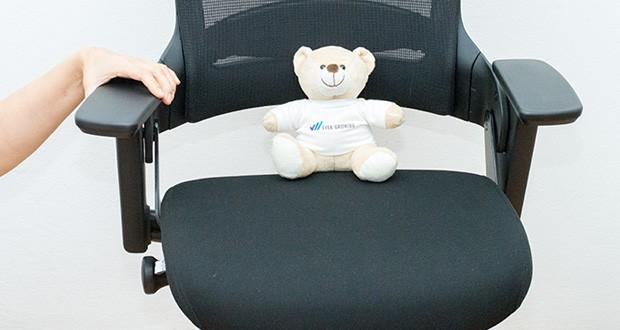 Ergotopia NextBack Ergonomischer Bürostuhl im Test - Verstellbare Armlehnen für eine gezielte Entlastung des Schulter- und Nackenbereichs