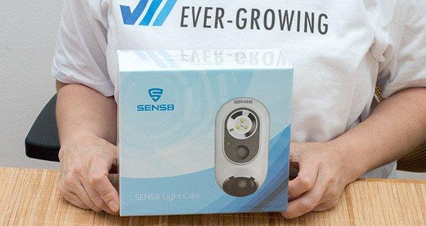 SENS8 Light Cam Überwachungskamera im Test - automatischer Upload auf Ihre Dropbox oder Google Drive