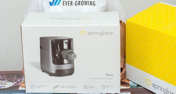 Springlane Automatische Nudelmaschine Nina im Test - Pasta ganz nach deinem Geschmack und Tempo