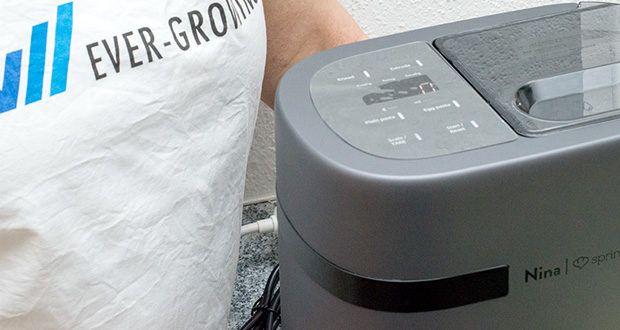 Springlane Automatische Nudelmaschine Nina im Test - durch das einfach zu bedienende Display bist du nur einen Klick von deinem Pastaglück entfernt