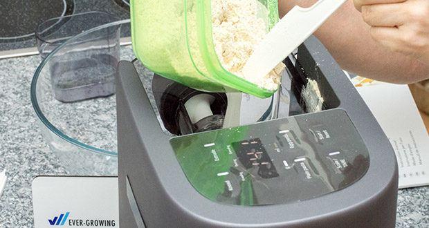 Springlane Automatische Nudelmaschine Nina im Test - wähle dein Programm und fülle Mehl ein