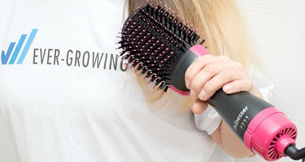 Aokebeey 4-in-1 Warmluftbürste im Test - starke Hitze für dickes Haar und geringere Hitze für feines dünnes Haar
