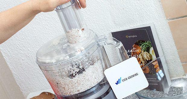 Springlane Universal Küchenmaschine Kaia im Test - Basismixbehälter mit 1,5 Liter Fassungsvermögen
