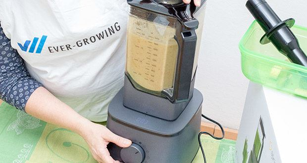 Springlane Hochleistungsmixer Hanno mit Rezeptheft im Test - ein Mixer, viele Möglichkeiten