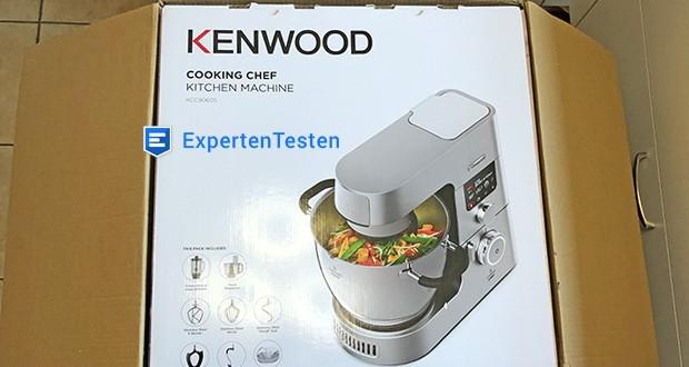 Kenwood Cooking Chef Gourmet KCC9060S Küchenmaschine im Test - Präzises Kochen mit Induktion