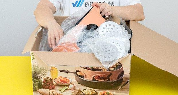 Emerio Pizzaofen PIZZARETTE 3 in 1 Pizza-Raclette-Grill im Test - Leistung: 1.800 Watt