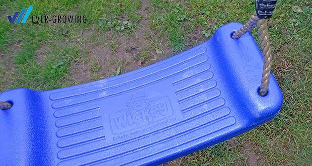 WICKEY Doppelschaukel mit Rutsche im Test - pro Schaukelsitz max. 50kg Belastung