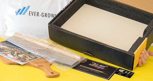 GARCON Pizzastein 4er Set im Test - hält Temperaturen bis 900 °C stand