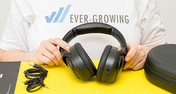 Mu6 Space 2 Active Noise Cancelling Kopfhörer im Test - mit Hybrid Active Noise Cancellation Technology