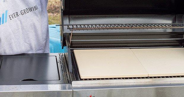 GARCON Pizzastein für Backofen und Gasgrill 3er Set im Test - Pizzastein passt in jeden Backofen und Gasgrill