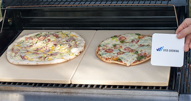 GARCON Pizzastein für Backofen und Gasgrill 3er Set im Test - für Pizza wie beim Italiener
