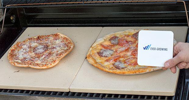 GARCON Pizzastein 4er Set im Test - Knuspriger Boden und luftiger Belag garantiert