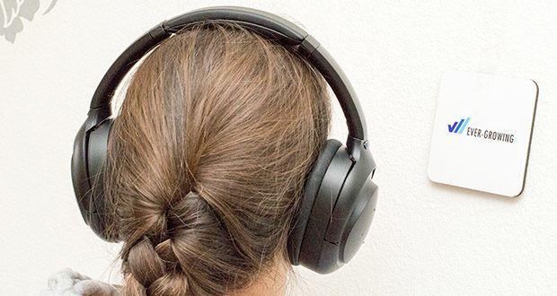 Mu6 Space 2 Active Noise Cancelling Kopfhörer im Test - ANC EIN/AUS Anfassung und Transpaenzmodus & sprechen smart: Sie können die Menge der Umgebungsgeräusche, die Sie hereinlassen oder ausblenden möchten, mit dem ANC ON / OFF und dem Transparenzmodus steuern