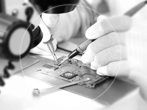 Datenrettung mit dem Mikroskop