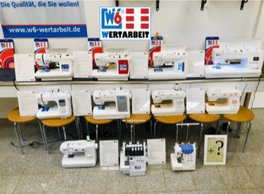 W6 Nähmaschinen - Hochwertige Nähmaschinen für die verschiedensten Anforderungen