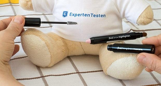 FIND Augenbrauen-Highlighting Kit im Test - für einen mühelosen, eleganten Look betonen Sie Ihre Brauen, indem Sie Ihre Augenbrauenknochen mit dem cremigen Stift hervorheben