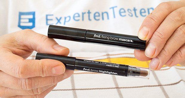 Augenbrauen-Highlighting Kit von FIND: Augenbrauen-Mascara & Augenbrauen-Highlighter im Test