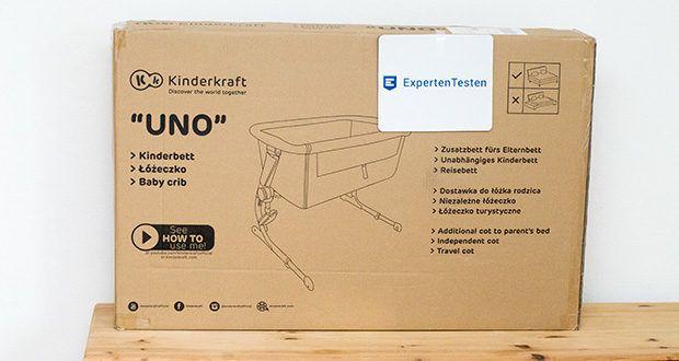 Kinderkraft Beistellbett UNO im Test - Gewicht 6 kg -> das leichteste Bettchen