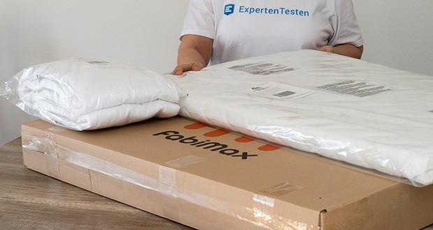 FabiMax Beistellbett im Test - Matratze COMFORT: Matratzenkern aus PU-Komfortschaum